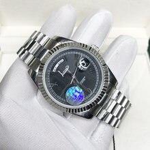 Reloj de lujo con números romanos U1, pulsera de mano de lujo con fecha, calidad AAA, cristal de zafiro de 40mm, barrido automático, glide smooth de segunda mano