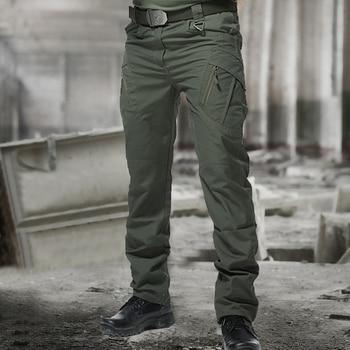 Mens Camouflage Cargo Pants Elastic Multiple Pocket Military Male Trousers Outdoor Joggers Pant Plus Size Tactical Pants Men 5XL 1