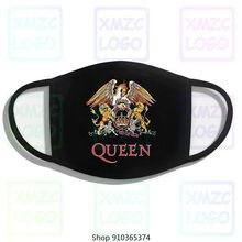 Venda rainha clássico crista máscara banda rock freddie mercury brian maio desconto 100 algodão