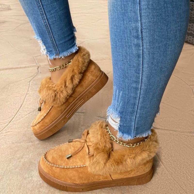 2020 inverno sapatos de pele casual feminino