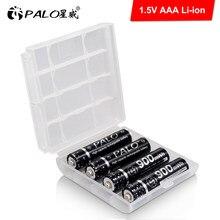 PALO – batterie Rechargeable Li-ion 1.5V, 1.5 mAh, piles AA pour horloges, souris, ordinateurs, jouets, etc.