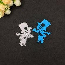 Металлические Вырубные штампы Сказочный клоун Скрапбукинг карточка