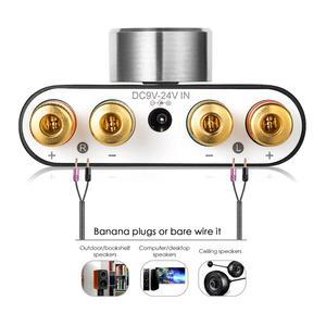 Image 4 - 2020 Nobsound Mini Bluetooth 5.0 Digital Amplifier Hifi Stereo Wireless Audio Receiver Power Amp 50W+50W Car Sound Amplifiers