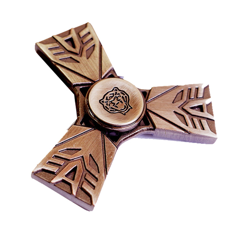Spinner Metal Fidget Toy Hand Spinners For Autism And ADHD Rotation 2 Mins Stress Relief Toys For Children Kids Gifts