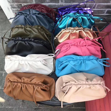 Big Leather Pouch High Quality Soft Clutch Bag Evening Party