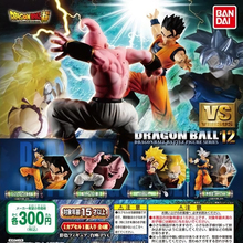 Tronzo 4 Pçs/set Original Bandai HG Figura Goku VS 12 Ultra Instinto Final Gohan Majin Buu PVC Action Figure Toys