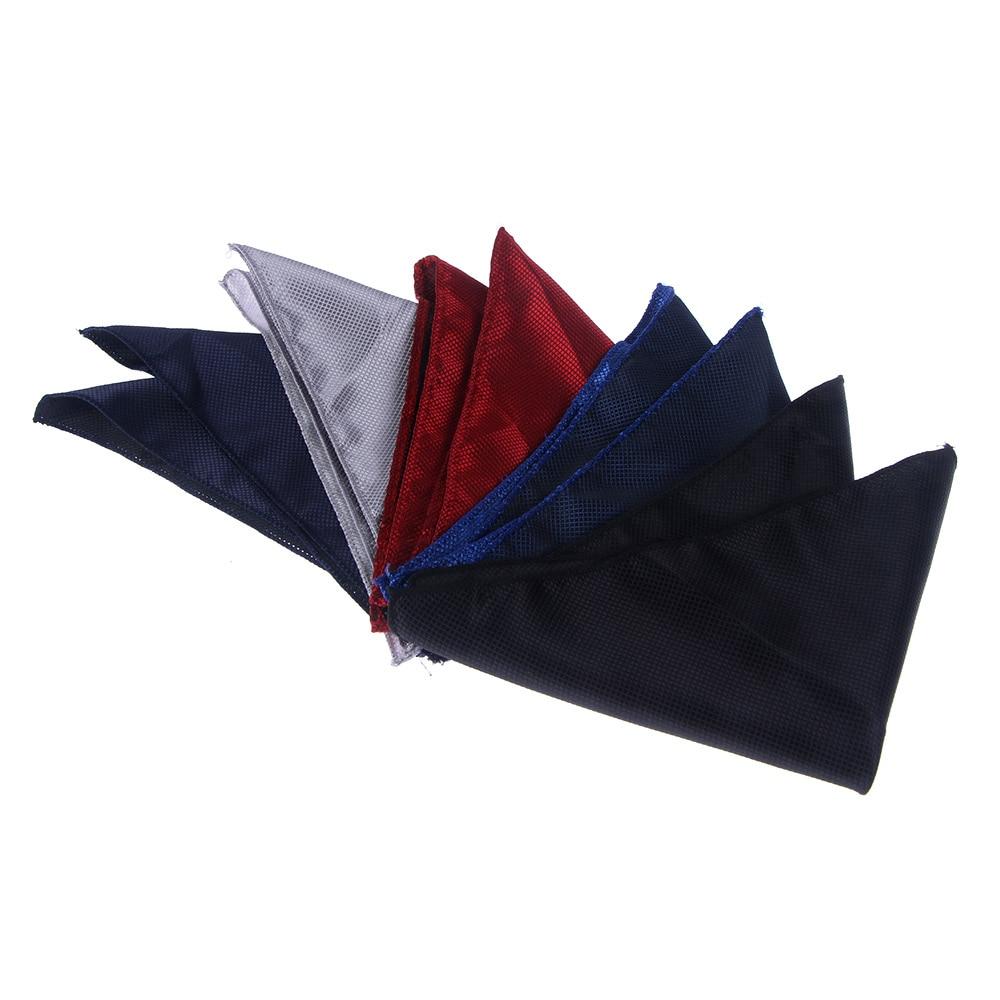 Men's Suit Square Plaid Stripe Handkerchiefs Men Classic Vintage Pocket Pocket Cotton Towel For Wedding Party 22*22cm