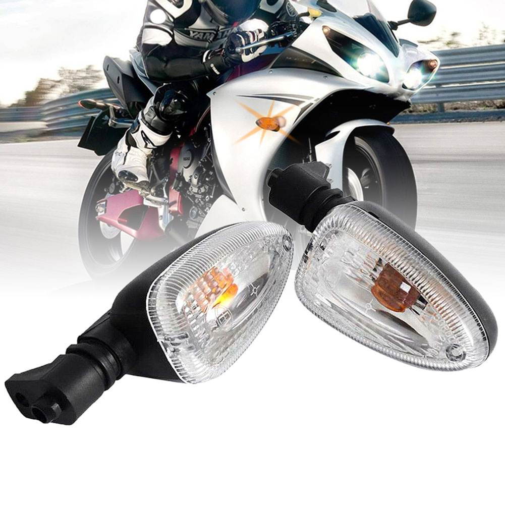 2xClear Turn Signal Light Indicator For BMW F650GS R1200GS F800GS HP2Enduro