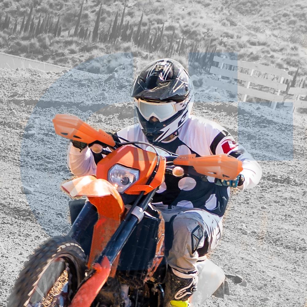 Image 5 - موتوكروس قفازات واقية لليد دراجة نارية حماية صدمة امتصاص دراجة نارية حراس اليد لهوندا CRF110F CRF125F CRF100F CRF125F CRF150Fحماية السقوط   -