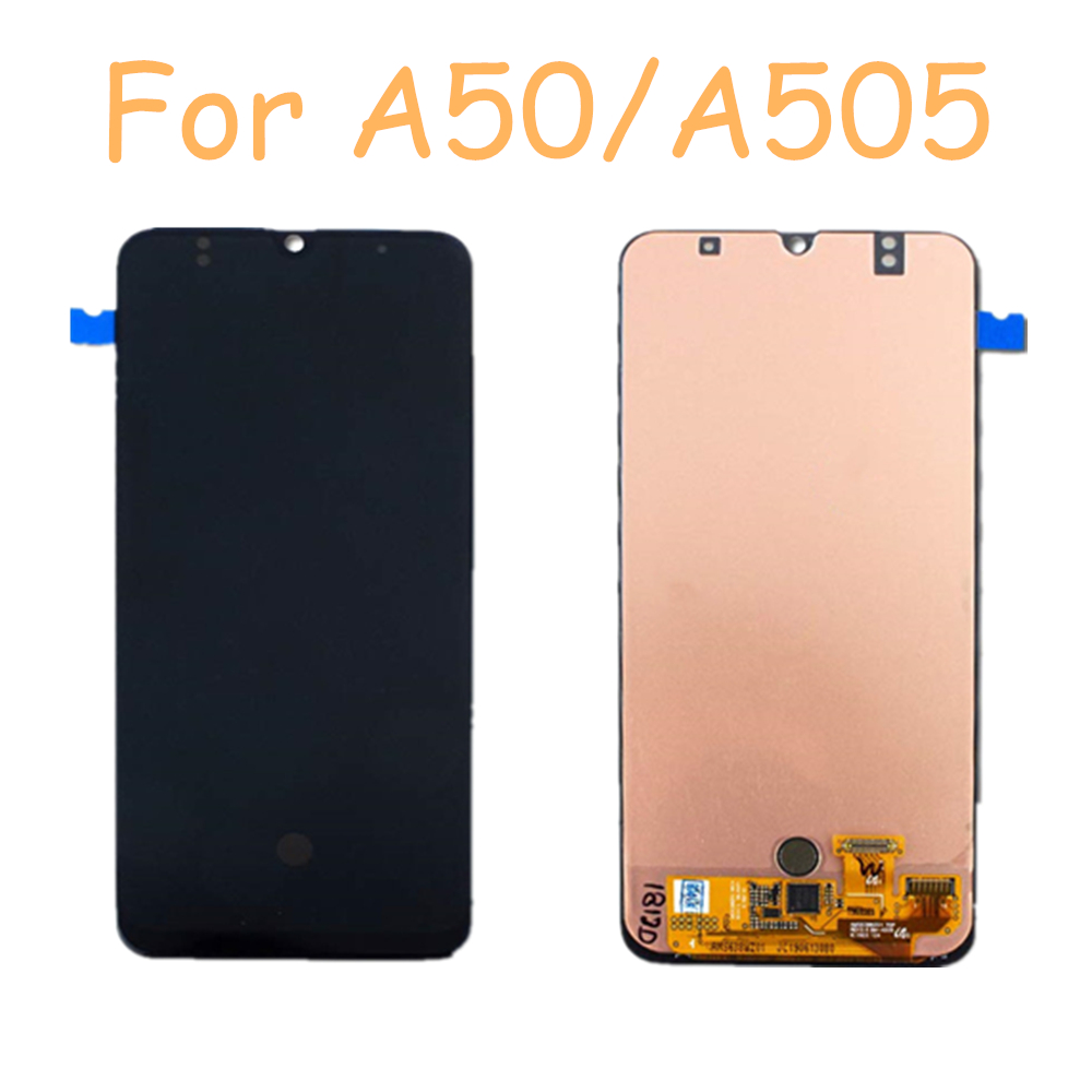 6.4''  Incell Display For Samsung Galaxy A50 2019 A505F/DS A505F A505A LCD Display Touch Screen Digitizer Assembly