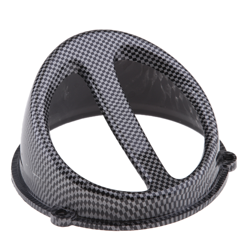 Fan Cover Air Scoop Caps for GY6 125/150cc Scooter 152QMI 157QMJ Carbon Fiber Lightweight Good Ventilation