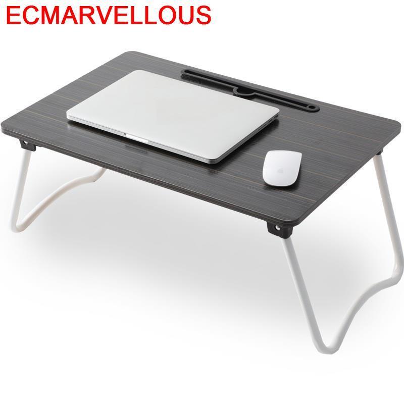 Biurko Dobravel Small Support Ordinateur Portable Notebook Office Adjustable Laptop Stand Mesa Study Table Computer Desk