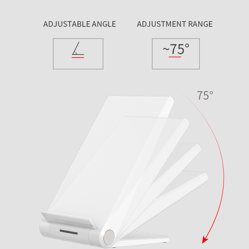 Image 3 - iHaitun 15W Qi Wireless Charger Type C Quick Charge 3.0 4.0 Stand Phone Holder Pad For iPhone 11 Pro Max Samsung Galaxy S10 USBMobile Phone Chargers   -