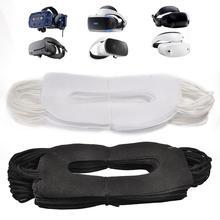 50 шт VR маска одноразовая маска для лица Нетканая гигиеническая маска для предотвращения глазных инфекций подходит для всех VR гарнитур