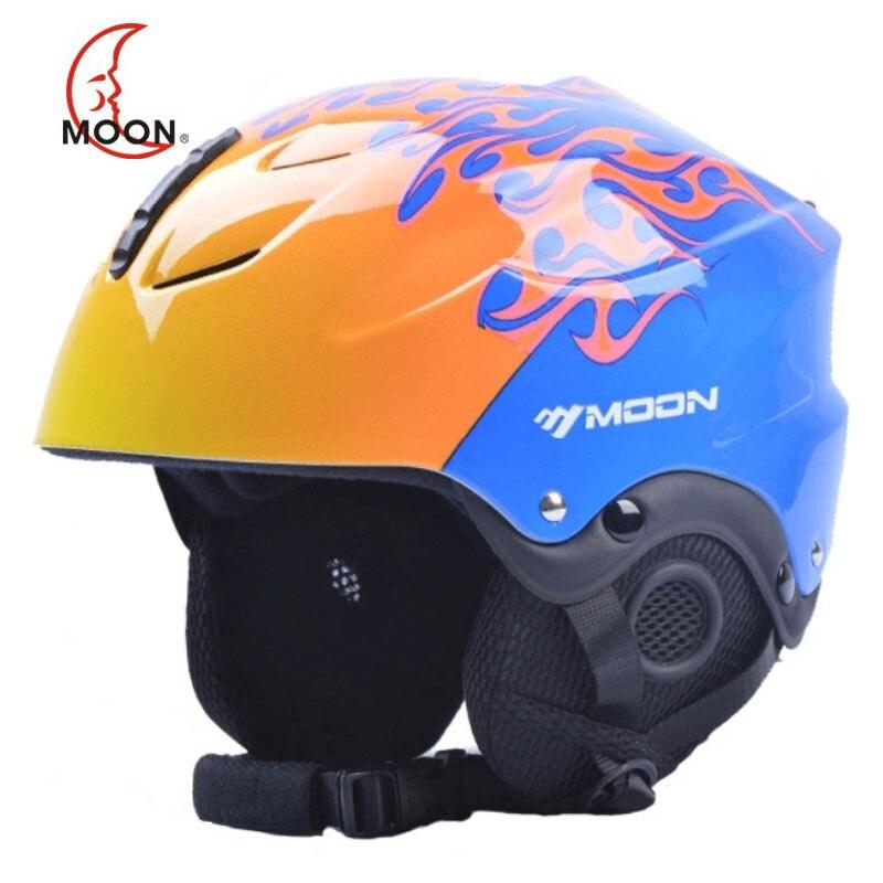 Новый бренд Moon, Сверхлегкий женский лыжный шлем для мужчин, профессиональный Зимний шлем для сноуборда, женские шлемы для катания на снегу, ...