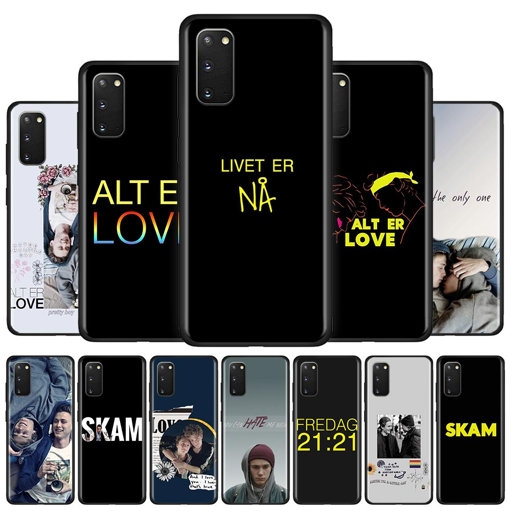 Silicone Phone <font><b>Case</b></font> For <font><b>Samsung</b></font> Galaxy S10 S20 Ultra 5G <font><b>S10e</b></font> S10 Lite S8 S9 Plus S7 Edge Shell Cover skam Gay best quotes lovely image