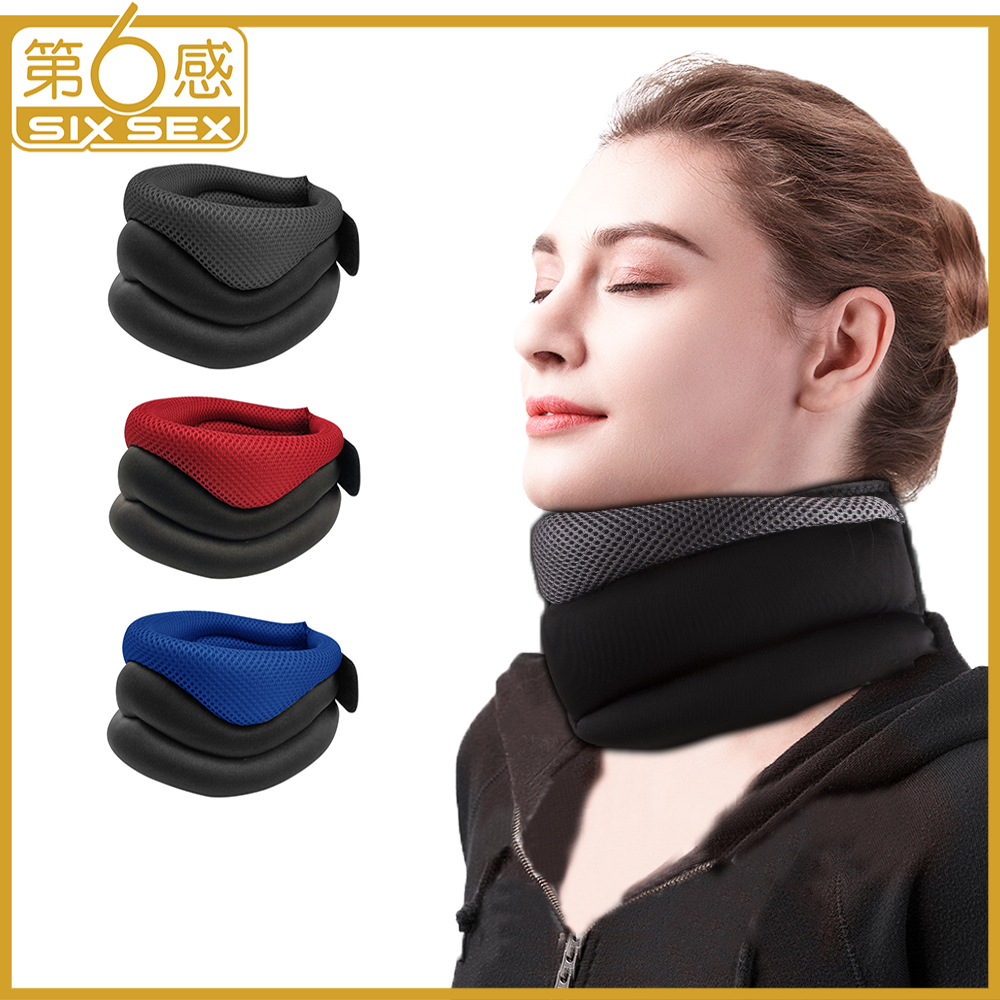 Neck Support Cervical Traction Device Brace Collar Protector Belt Massage Neck Posture Pain Relief Corrector