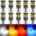 10x T10 W5W Car LED Canbus Bulbs 168 194 Parking Lights For Mercedes Benz W203 W204 W205 W211 W212 W220 W164 W124 W163 W176 AMG