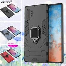 Funda armadura Ultra a prueba de golpes para Samsung Galaxy Note 10 Plus 5G S20 Plus, J4 J6 Plus Prime A7 A8 Plus A9 2018 A9s Capa