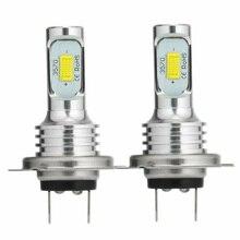 цена на 2pcs DC 12V-24V H7 LED Headlight Bulbs Conversion Kit Super High Low Beam 4000LM 6000K 80W Car LED Bulb headlight