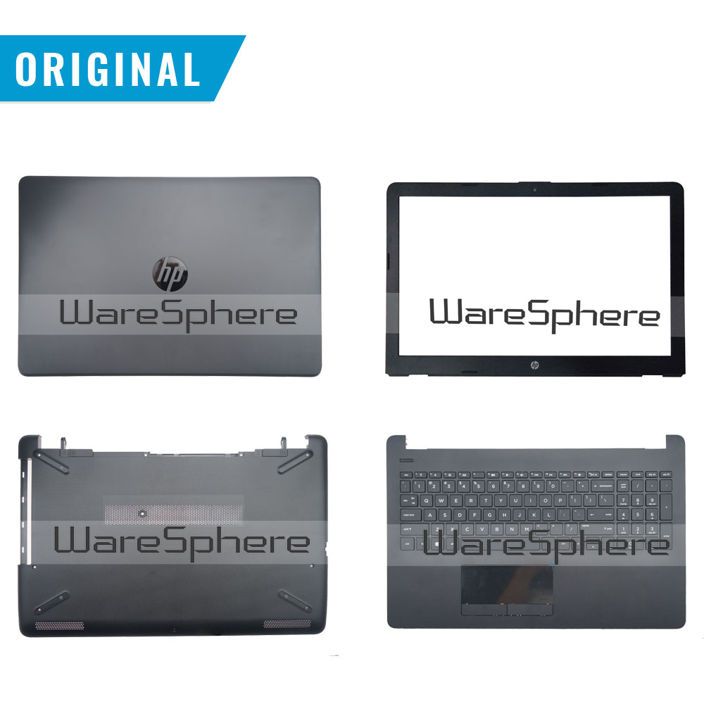 New Original For HP 15T-BR 15T-BS 15Z-BW 255 G6 LCD Back Cover Bezel Plamrest Bottom Base Case 929893-001 924925-001 925008-001