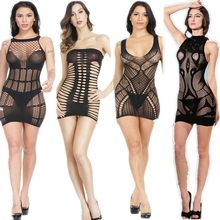 Sexy Lingerie Sexy Costumes Intimate Porno Exotic Apparel Underwear Hot Kimino Nightgown Sleepwear Dress Teddy Slips Women(China)