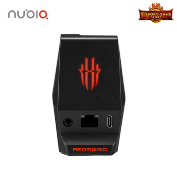 Nubia RedMagic 5g Docking Station with Type-C Charging Port 3.5mm Headphone Jack 100mb Ethernet Port for Red Magic 5G
