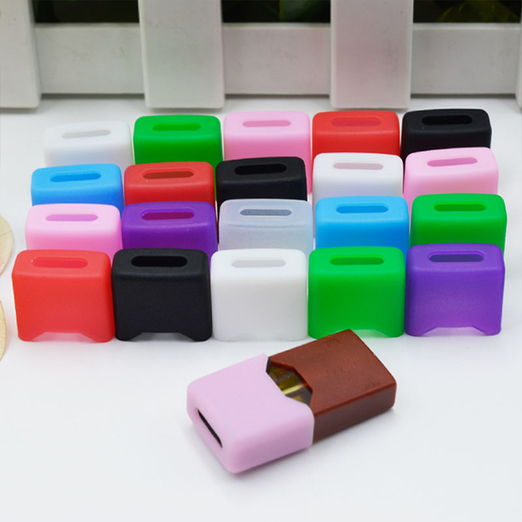 5pcs/lot Disposable Silicon Test Drip Tip For JUUL Ecig Vape Accessories Colourful Dustproof Cap