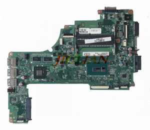 Changing motherboard A000393560 For TOSHIBA SATELLITE L50 eDP DA0BLQMB16B0 REV:B Laptop Motherboard Test OK