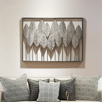 Country Stereo Wrought Iron Wall Decoration Wall Decoration Creative Bedroom Living Room Wall Decoration