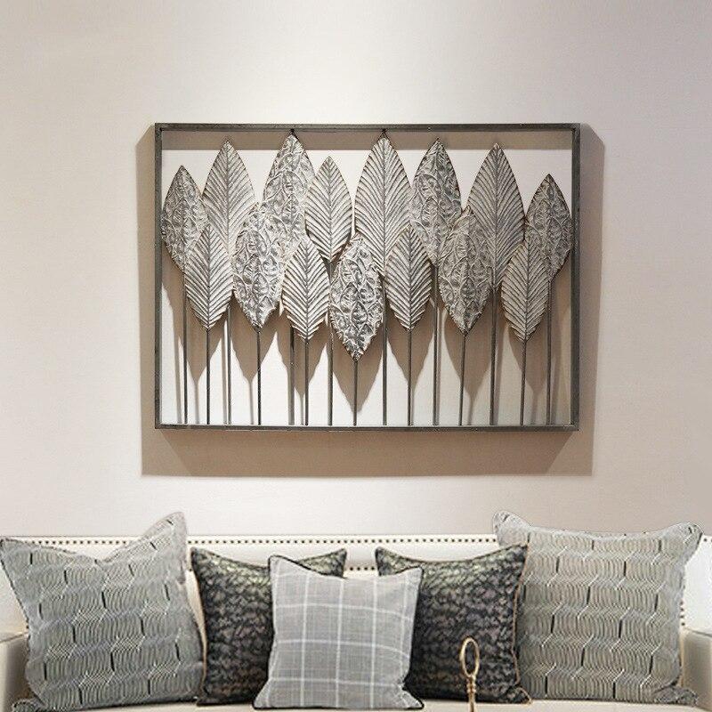 País estéreo ferro forjado decoração da parede decoração de parede criativo quarto sala estar decoração de parede