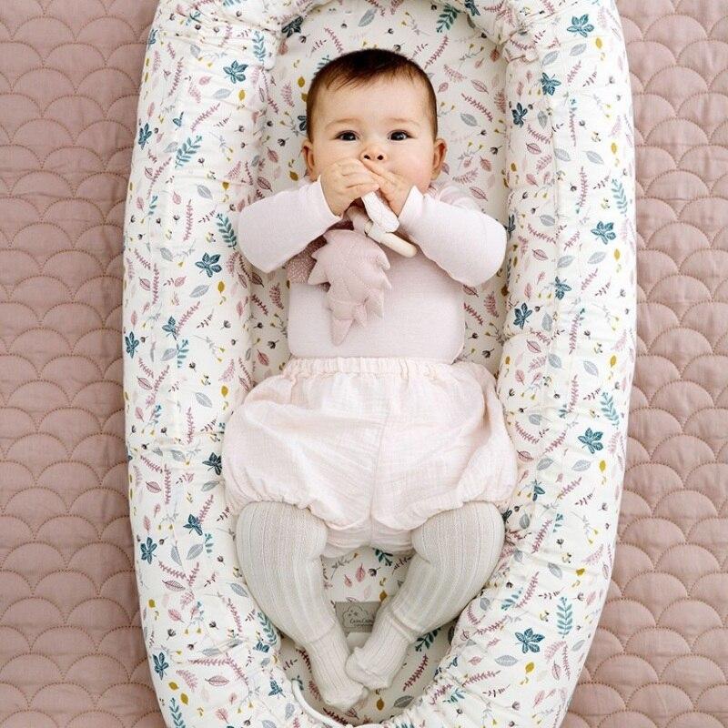 13 couleurs nouveau-né infantile chaise longue détachable Portable lavable bébé blottir nid voyage couffin pour enfant en bas âge amovible