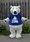 Polar Bear Mascot Co...