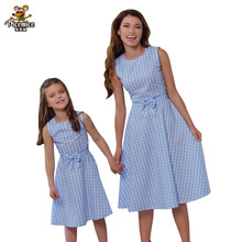 Family Look Mother Daughter Dress Children Clothing Fashion Mom And Kids Family Matching Outfits Women Baby Girls Clothes Dress