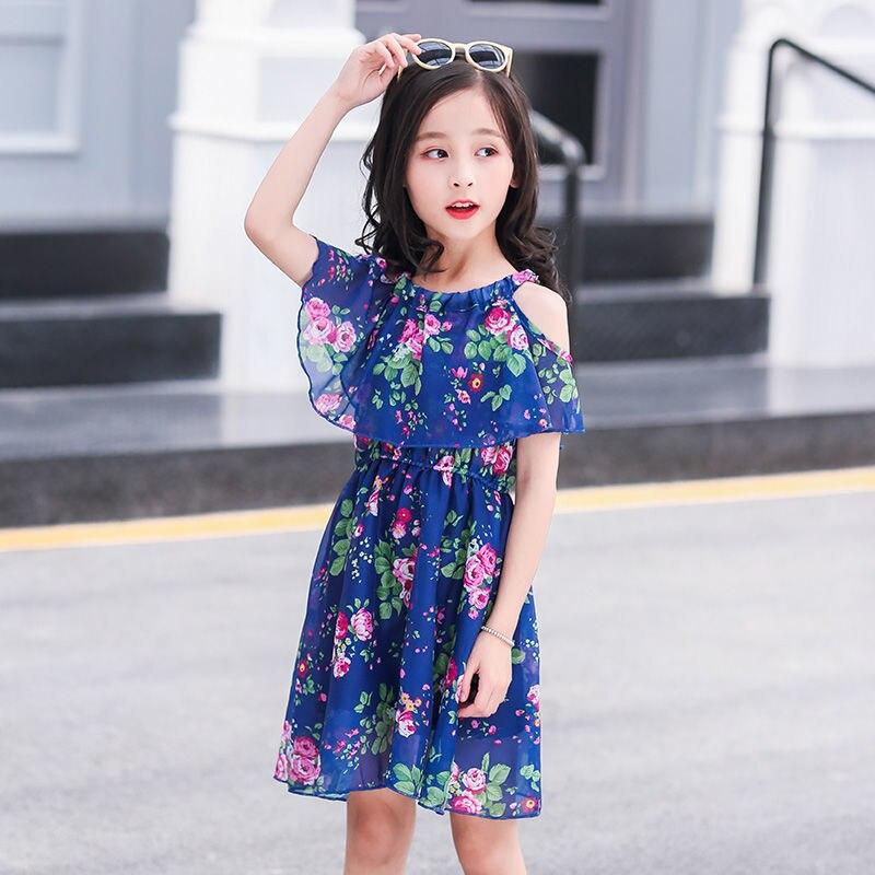 2020 Summer Little Girls Dress 12 Children's Dress 10 Summer 9 Dress 11 Years Old Princess Dress Girls Christmas Banquet Party