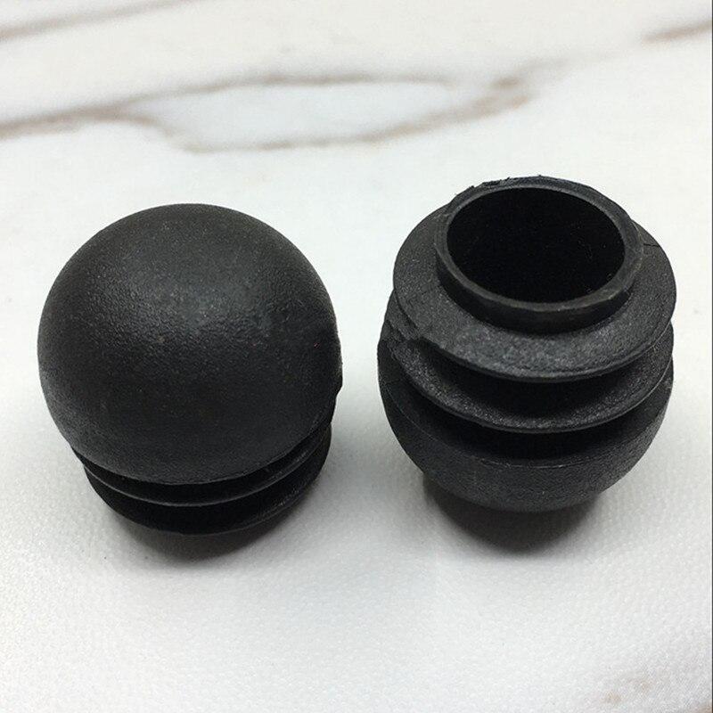 Купить 10 шт пластик сталь трубы концевые заглушки кепки с фокусным