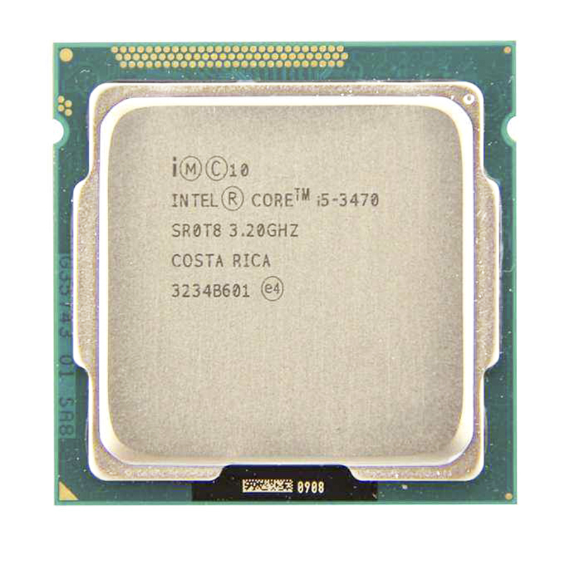 Intel Core i5-3470 i5 3470 ГГц четырехъядерный процессор 77W Processor (6M Cache, 3.2GHz) LGA1155 PC computer Desktop CPU image