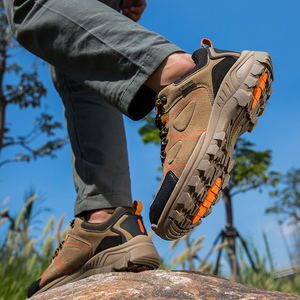 Image 5 - 秋のクラシックメンズカジュアルシューズメンズハイキング靴ジョギングライトスポーツの靴新しいのスニーカーウォーキング摩耗抵抗
