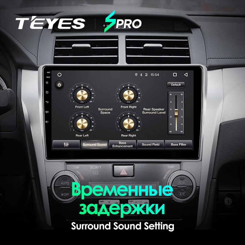 Teyes Spro Voor Toyota Camry 7 Xv 50 55 2011 2012 2013 2014 Auto Radio Multimedia Video Player Navigatie Gps android 8.1 Geen 2din