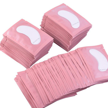 100pairs Eyelash Extension Paper Patches Grafted Eye Stickers 7 Color Eyelash Under Eye Pads Eye Paper Patches Tips Sticker 1