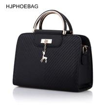 HJPHOEBAG Fashion Handbag Women Leather Bag Large Capacity Shoulder Bag