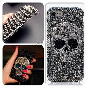 Image 1 - 3D Cool Punk pointes goujons Rivet diamant Bling Capa étui pour Samsung Galaxy S10e S9 S10 S20 Plus FE Note 10 + 10 Lite 9 20 Ultra