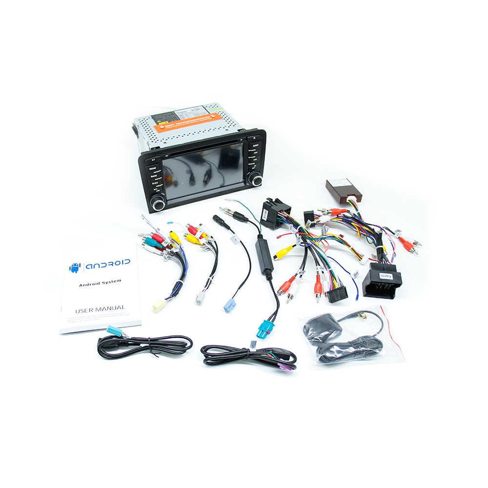 IPS DSP 4 ギガバイト 2din アンドロイド 9 車のラジオの Dvd プレイヤーアウディ A3 8 1080P S3 2003-2012 RS3 スポーツバックマルチメディアナビゲーションステレオヘッドユニット