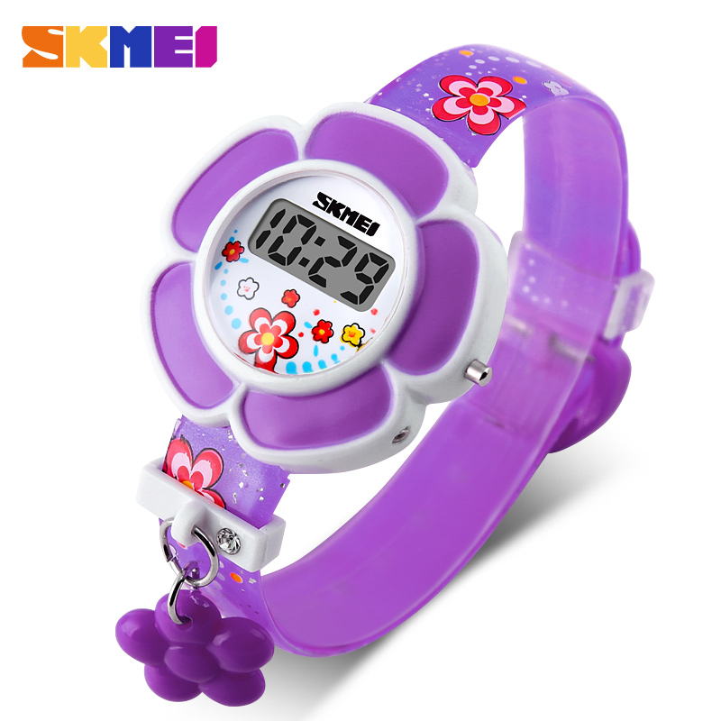 SKMEI Personality Girls Watches Cute Wrist Kids Watches Beauty Creative Children Clock Fashion Time Hour Relogio Infantil 1144
