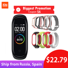 Xiaomi Mi Band 4 Original 2019 Newest Music Smart Miband Bracelet Heart Rate Fitness 135mAh 3 Color Screen Bluetooth 5.0