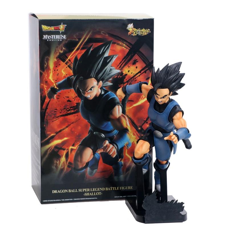 25cm Dragon Ball Super Legend Battle Vegeta PVC Figure Toys Shallot Black Hair Statue Broly Broli Son Goku Gohan Model Doll Gift
