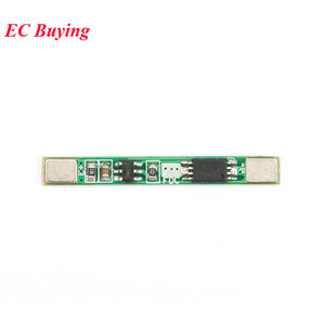 Image 3 - 100pcs 1S 3.7V 2A li ion BMS PCM 18650 Lithium Batterij Bescherming Boord Overbelasting over ontlading Korte circuit PCB ion li Mobiele