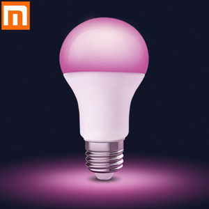 Image 1 - Newest Xiaomi E27 LED Bulb Lights RGB 7000K White Light Brighter Changeable Colorful Mijia APP Smart Remote Control
