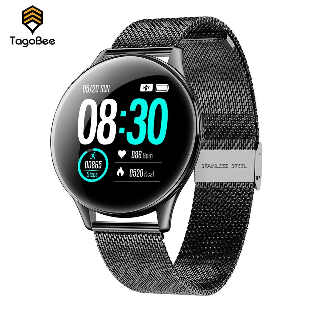TagoBee SN58 Smart Watch IP68 Waterproof Heart Rate Monitor Control Smart Activity Trackers Men Women Smart Bracelet Android iOS