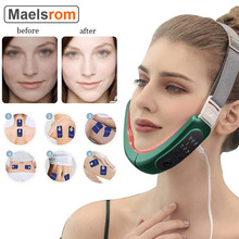 Face-Lift Device Slimming Therapy Vibration EMS V-face lifting Belt Facial Massage Lifting Chin Neck Anti-Wrinkle Beauty Machine